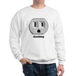 Shocking Wall Outlet Sweatshirt