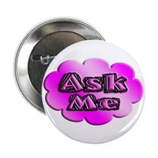 "Cute Ask me 2.25"" Button (10 pack)"