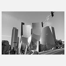 Concert hall, Walt Disney Concert Hall, City of Lo