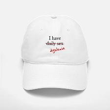 Dyslexia Daily Sex Baseball Baseball Cap