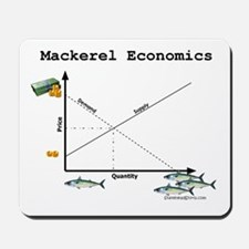 Mackerel Economics Mousepad