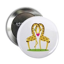 "Giraffe Love 2.25"" Button (100 pack)"