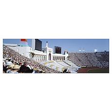 Spectators in a stadium, Opening Ceremonies of the Poster