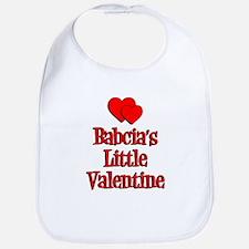 Babcia's LIttle Valentine Bib