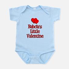 Babcia's LIttle Valentine Infant Bodysuit