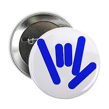 "ASL Rocks Bright Blue 2.25"" Button"