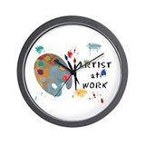 Artist Wall Clocks