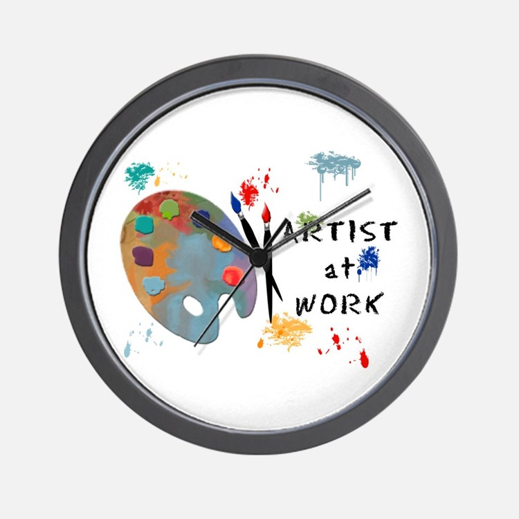 artist clocks | artist wall clocks | large, modern, kitchen clocks