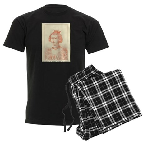 Anne-Geneviève de Bourbon Men's Dark Pajamas