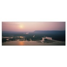 River, Mississippi River, Upper Mississippi River Framed Print