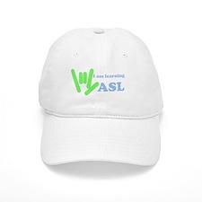 Learning ASL Baseball Baseball Cap