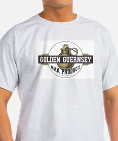 Golden Guernsey Ash Grey T-Shirt