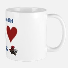 Poker Diet Mug
