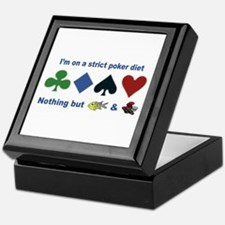 Poker Diet Keepsake Box