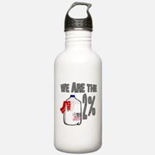Occupy - We are the 2 % Milk Water Bottle