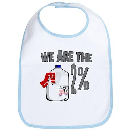 Occupy - We are the 2 % Milk Bib