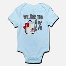 Occupy - We are the 2 % Milk Infant Bodysuit