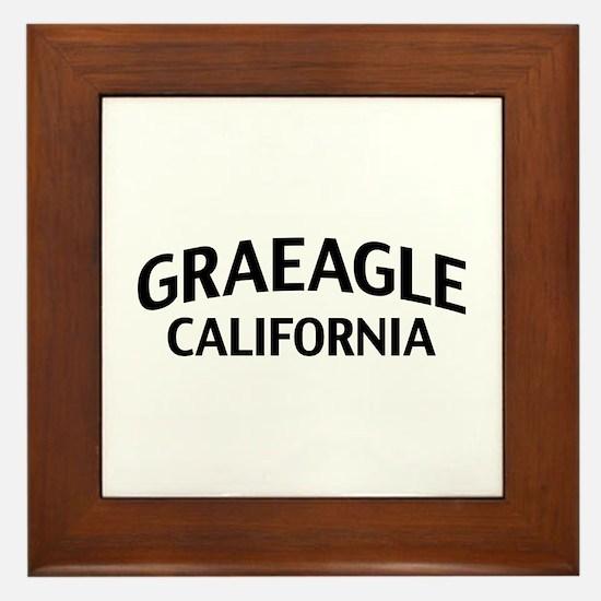 Graeagle California Framed Tile