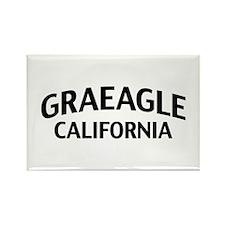Graeagle California Rectangle Magnet