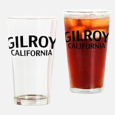 Gilroy California Drinking Glass