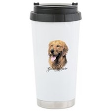Golden Retriever Thermos Mug