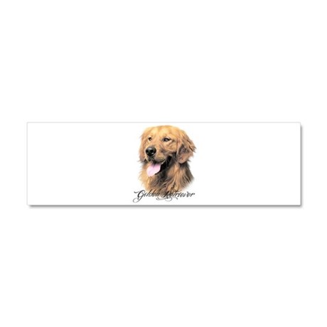 Golden Retriever Car Magnet 10 x 3