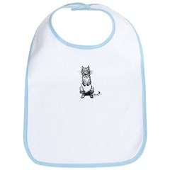 WH Robinson's Puss in Boots Bib