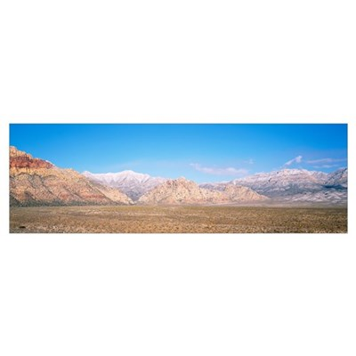 Red Rock Canyon National Conservation Area NV Poster