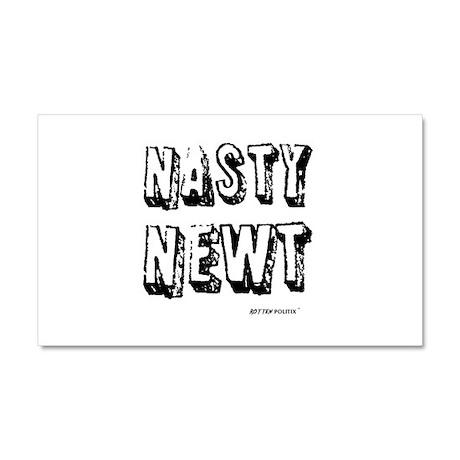 Nasty Newt Car Magnet 20 x 12