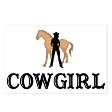 Cowgirl & Horse Postcards (Package of 8)