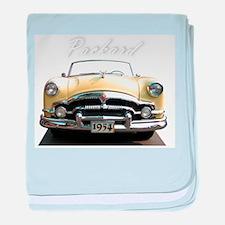 Packard 54 baby blanket