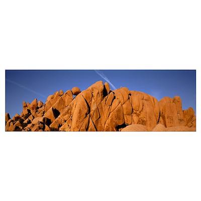 Balanced Rock Joshua Tree National Monument CA Poster