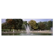 Hyde Park London England Framed Print