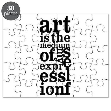 Art is My Medium Puzzle