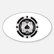 Casino Chip Decal