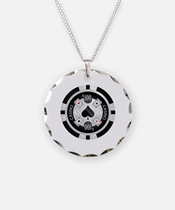Casino Chip Necklace