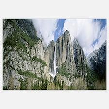 Bridal Veil Falls Yosemite National Park CA