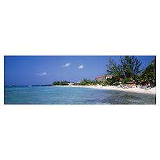 Grand Cayman, Cayman Islands, 7 Mile Beach, Touris Poster