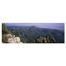 Sandia Mountains Albuquerque NM Poster