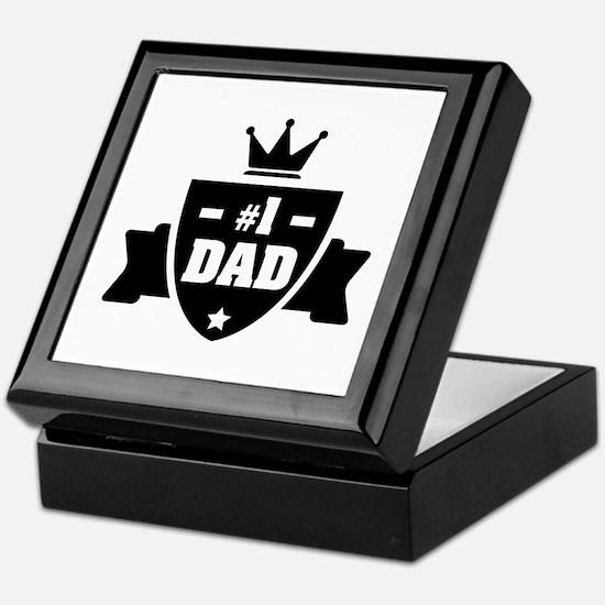NR 1 DAD Keepsake Box