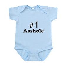 NR 1 ASSHOLE Infant Bodysuit