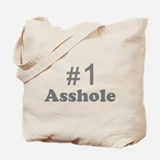 NR 1 ASSHOLE Tote Bag