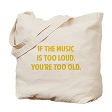LOUD MUSIC Tote Bag