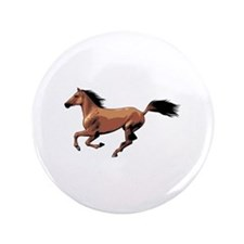 """Horse 3.5"""" Button (100 pack)"""