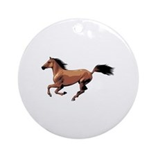 Horse Ornament (Round)