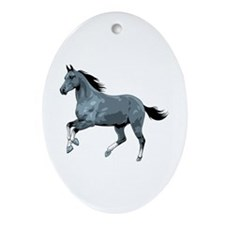 Horse Ornament (Oval)