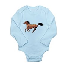Horse Long Sleeve Infant Bodysuit
