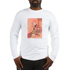 WH Robinson's Blue Beard Long Sleeve T-Shirt