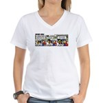 0415 -Engine noise Women's V-Neck T-Shirt