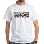0415 -Engine noise White T-Shirt